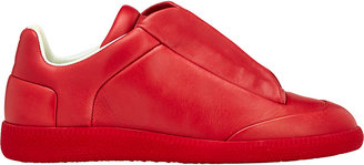 Maison Margiela Women's Future Low-Top Sneakers-RED $850 thestylecure.com