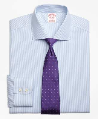 Brooks Brothers Madison Classic-Fit Dress Shirt, Non-Iron Royal Oxford Candy Stripe