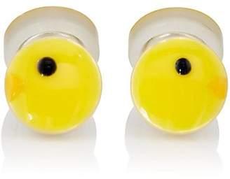 Samuel Gassmann Paris Men's Yellow Canary Double-Sided Cufflinks - Yellow