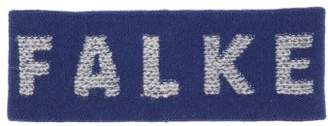 Falke Ess - Logo Jacquard Wool Blend Headband - Mens - Navy Multi