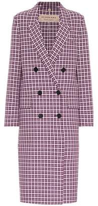 Burberry Check cotton coat