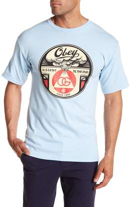 Obey Dissent Til The End Tee