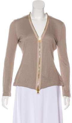 Tom Ford Zip-Up Knit Cardigan