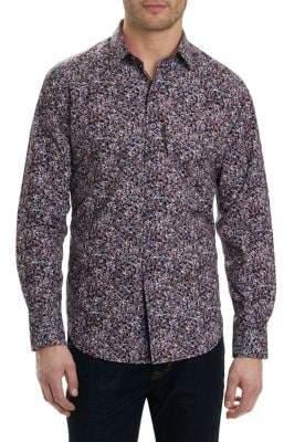 Robert Graham Regular-Fit Paisley Button-Down Shirt
