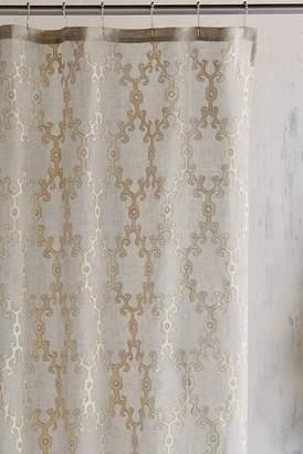 John Robshaw Totem Shower Curtain