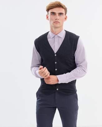 Brooksfield Fine Knit Cotton Vest