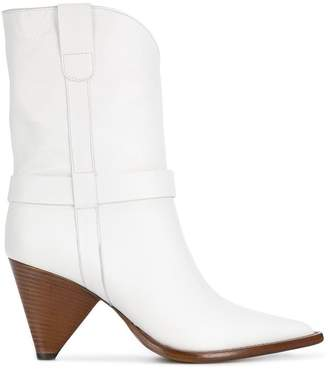 Aldo Castagna pointed ankle boots