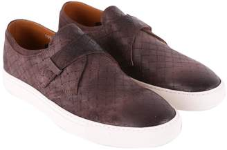 """Doucal's Glasgow"""" Leather Sneakers"""""""