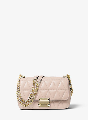 87a390e694e8 MICHAEL Michael Kors Sloan Small Quilted Leather Crossbody Bag
