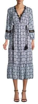 DAY Birger et Mikkelsen Kobi Halperin Silk Peasant Maxi Dress