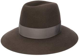 Borsalino wide brim Panama hat