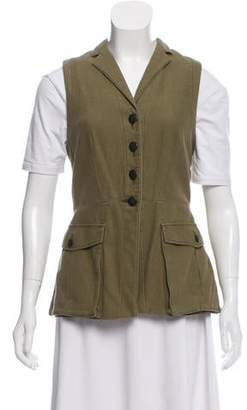 Rag & Bone Notch-Lapel Button-Up Vest