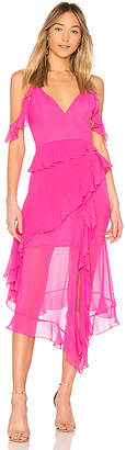 Nicholas Georgette Maxi Dress