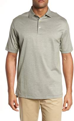 Peter Millar Briarwood Stripe Cotton Polo