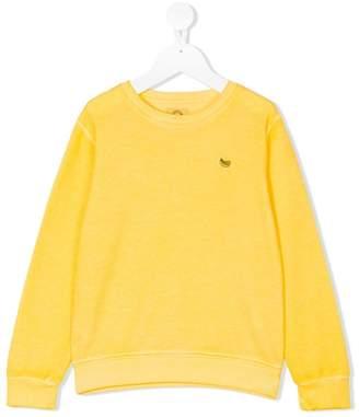Madson Discount Kids banana embroidered sweatshirt