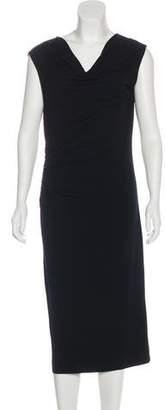 Halston H by Sleeveless Midi Dress