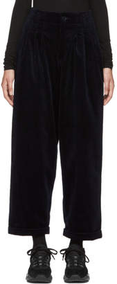 YMC Navy Keaton 8 Whale Corduroy Trousers
