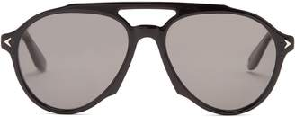 Givenchy Aviator-frame acetate sunglasses