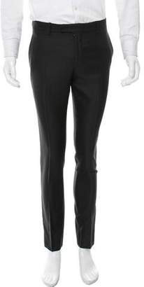 Saint Laurent Wool-Blend Tuxedo Pants