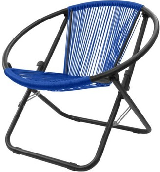 Urban Shop Fiji Woven Cord Chair, Available in Multiple Colors