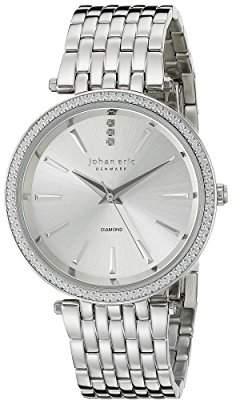 Johan Eric Women's JE-F1000-04-001B Fredericia Analog Display Quartz Watch