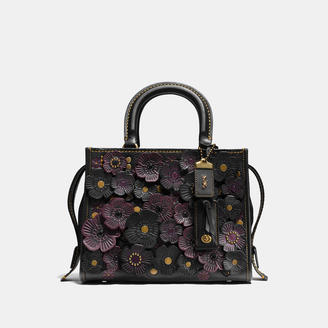 COACH Coach Rogue 25 In Glovetanned Pebble Leather With Tea Rose $895 thestylecure.com