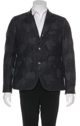 Moncler Patterned Wool Jacket