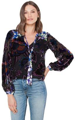 Hale Bob Brooklyn Velvet Burnout Top