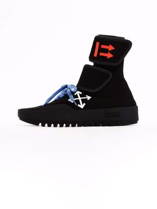 Off-White Off White High Sneaker Cst- 001 Black