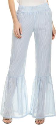 Young Fabulous & Broke Leena Linen-Blend Pant