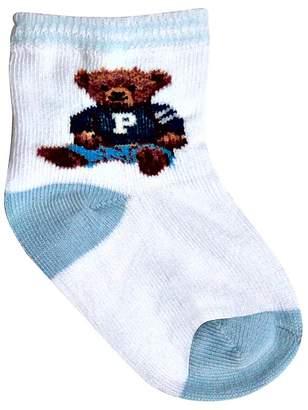 Ralph Lauren Boys' Polo Boy Teddy Crew Socks - Baby