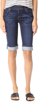Hudson Palerme Knee Cuffed Shorts $165 thestylecure.com