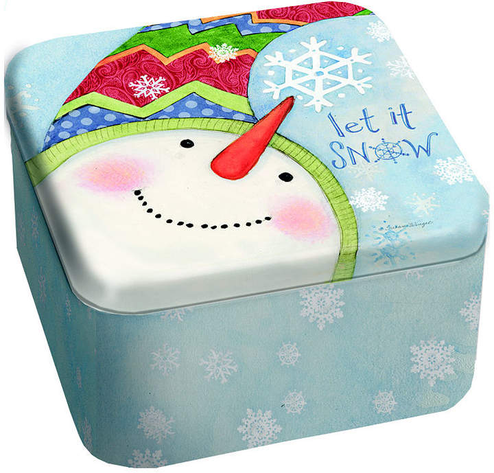 LANG Snowflakes 13.5 Oz Tin Candle