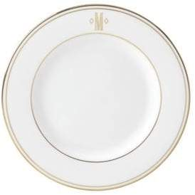 Lenox Federal Gold Monogrammed Salad Plate