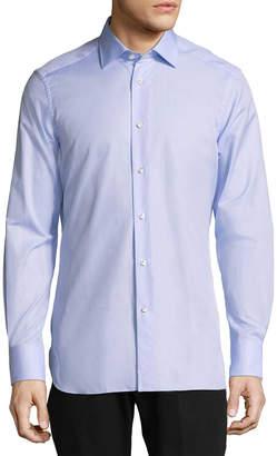 Ermenegildo Zegna Solid Dress Shirt