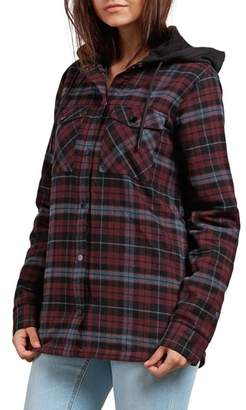Volcom Hooded Layered Jacket