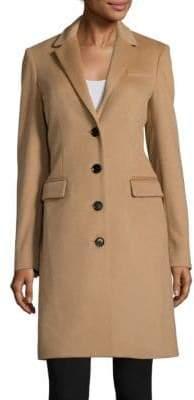 Burberry Sidlesham Tailored Wool-Blend Coat