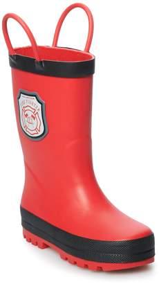 Carter's Fire Toddler Boys' Waterproof Rain Boots