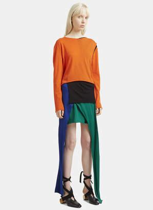 J.W.Anderson Asymmetric Knit Dress