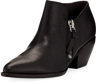 Sigerson Morrison Suede Zip Ankle Booties