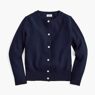 J.Crew Girls' cashmere cardigan sweater
