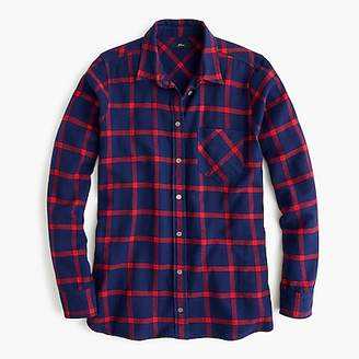J.Crew Classic-fit shirt in block plaid