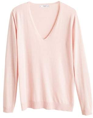 MANGO V-neck sweater