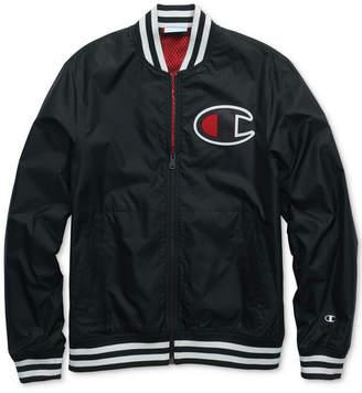 Champion Men's Satin Baseball Jacket