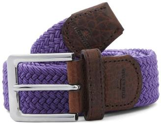 Tyler and Tyler Purple Woven Belt, Tyler Tyler