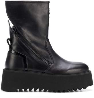 Bruno Bordese platform sole boots