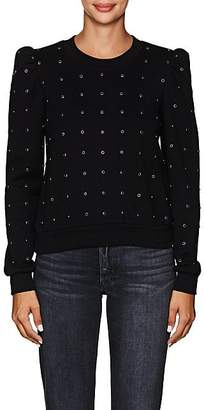 A.L.C. Women's Azalia Stud-Embellished Cotton Sweatshirt - Black