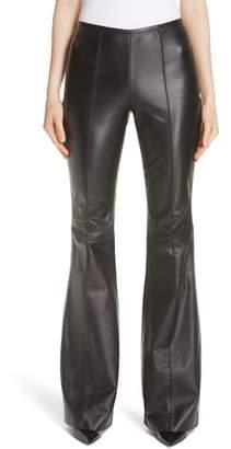 Michael Kors Leather Flare Pants