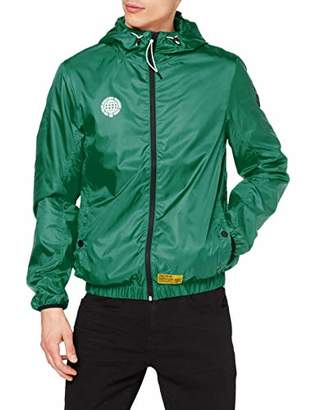 Tom Tailor Casual Men's 1008120 Jacket, (Plain Green 15646), Small