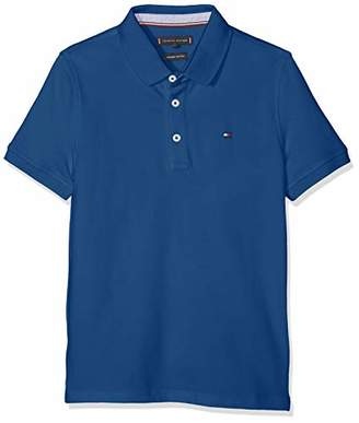 3adae638f Tommy Hilfiger Boy's Essential Tommy Reg Polo S/s Shirt, (Radiant Yellow 720